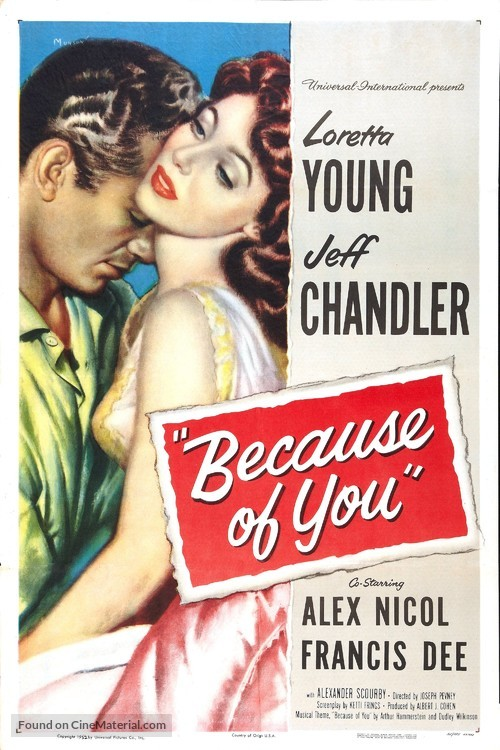 Because of You - Movie Poster