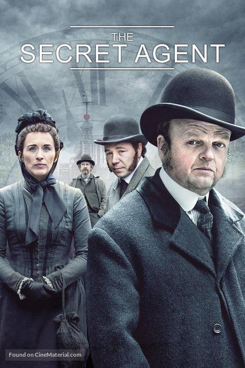 """""""The Secret Agent"""" - British Movie Cover"""
