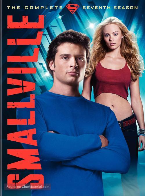 """""""Smallville"""" - DVD movie cover"""