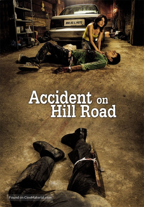 Accident on Hill Road - Indian Movie Poster