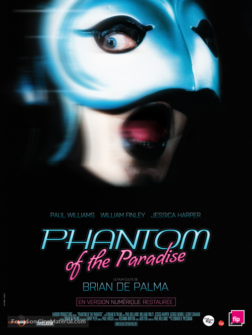 Phantom of the Paradise - French Movie Poster
