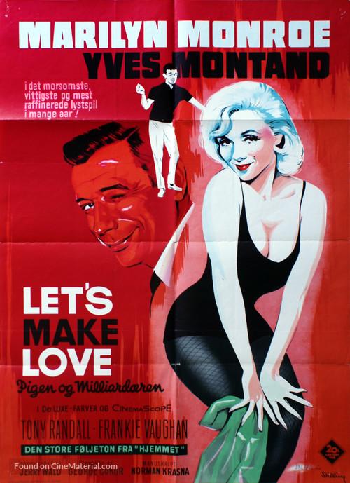 Let's Make Love - Danish Movie Poster