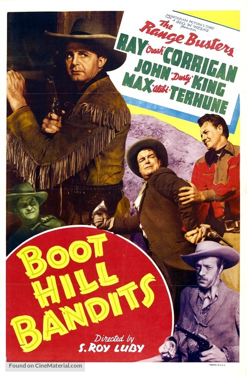 Boot Hill Bandits - Movie Poster