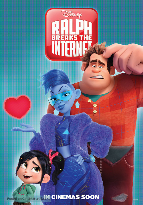 Ralph Breaks the Internet - International Movie Poster