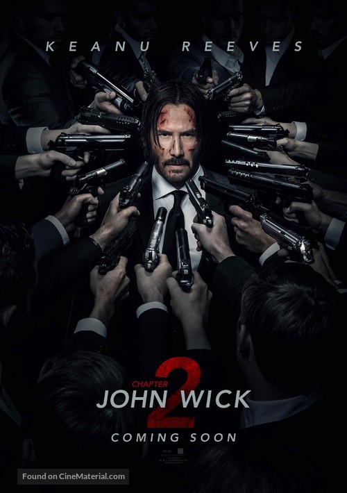 John Wick: Chapter Two - British Movie Poster