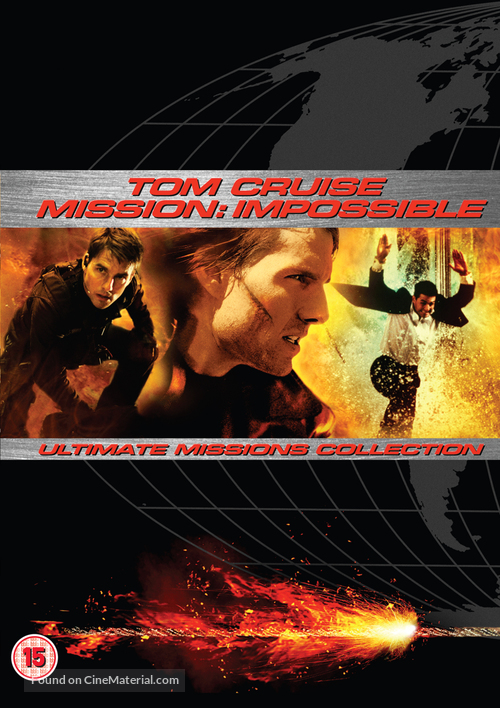 Mission Impossible Ii 2000 British Dvd Movie Cover