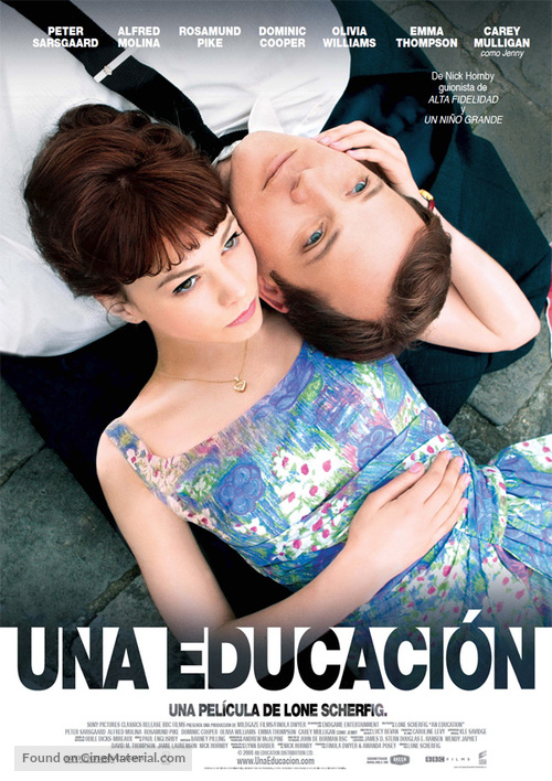 An Education - Mexican Movie Poster