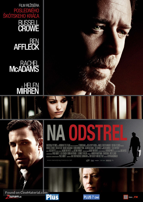 State of Play - Slovak Movie Poster