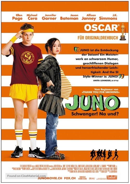 Juno - Swiss Movie Poster