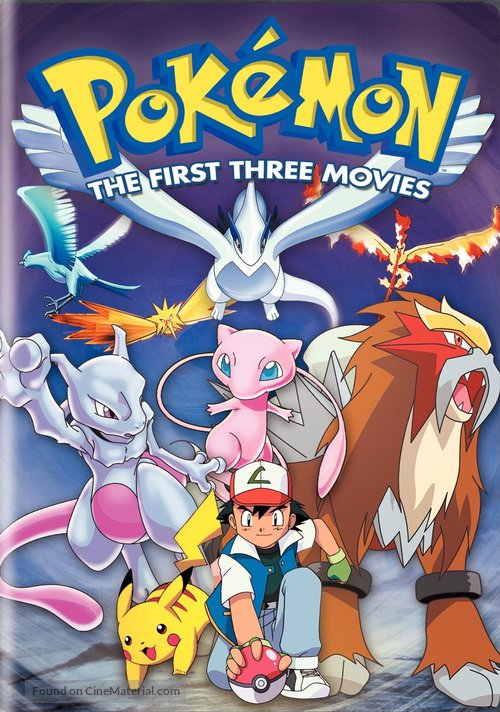 Pokemon The First Movie Mewtwo Strikes Back 1998 Dvd Movie Cover