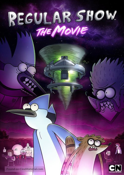 Regular Show: The Movie - DVD movie cover