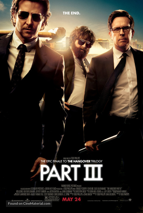 The Hangover Part III - Movie Poster