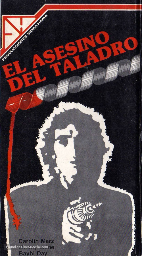 The Driller Killer - Argentinian Movie Cover