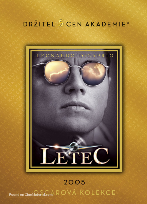 The Aviator - Czech DVD movie cover