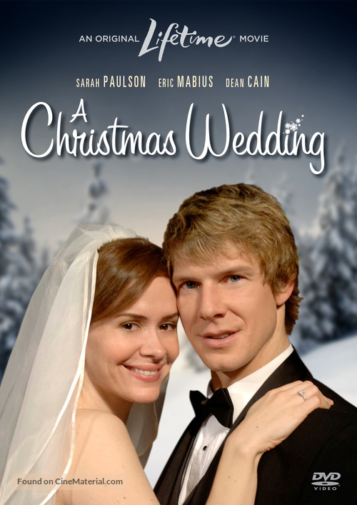 A Christmas Wedding - DVD movie cover