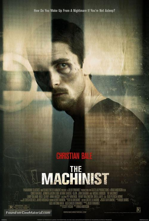 The Machinist - Movie Poster