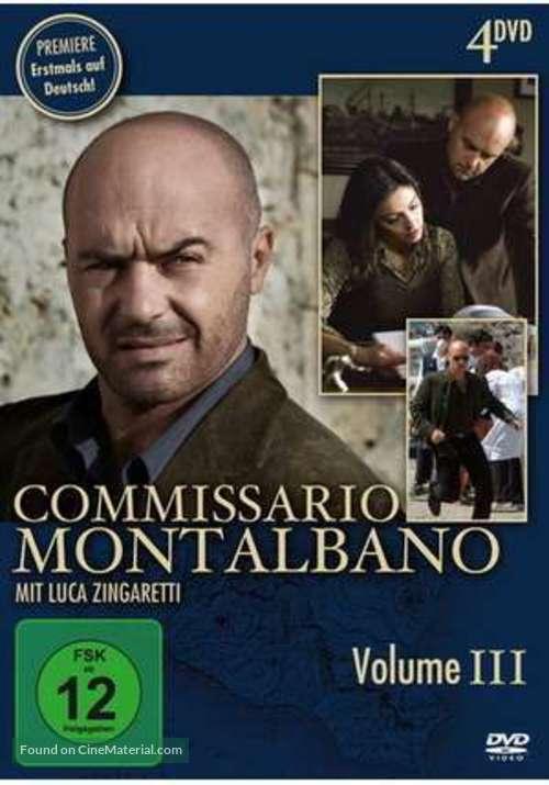 """Il commissario Montalbano"" - German DVD movie cover"