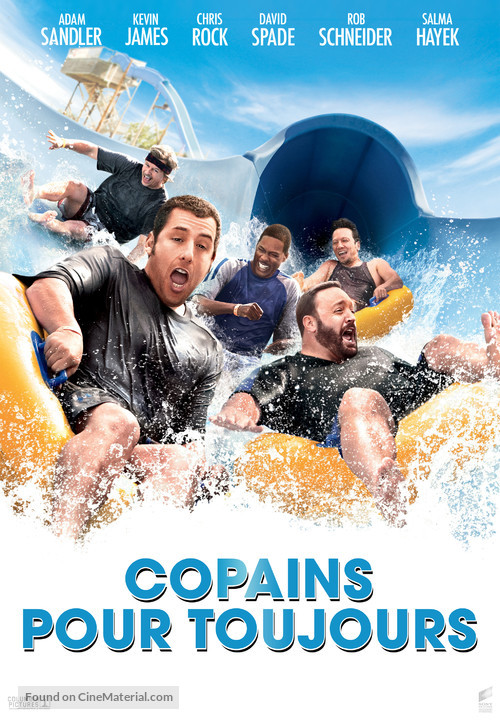 Grown Ups - French Movie Poster