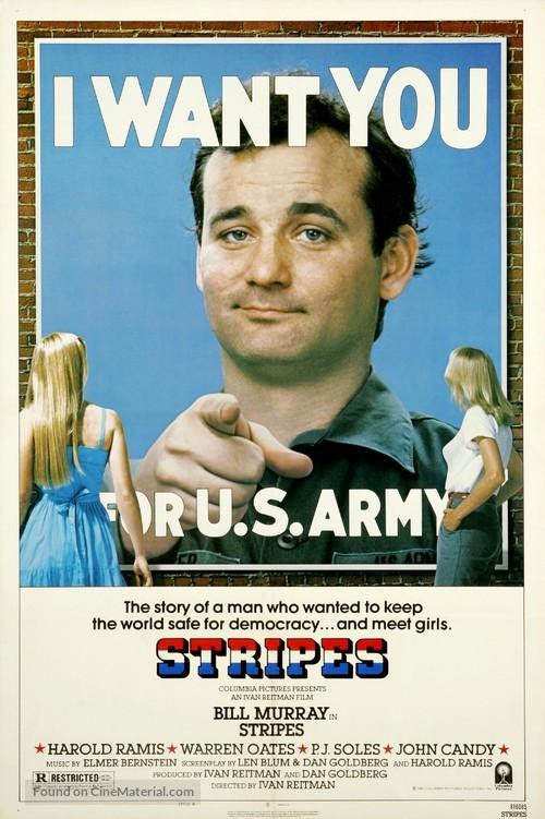 Stripes - Movie Poster