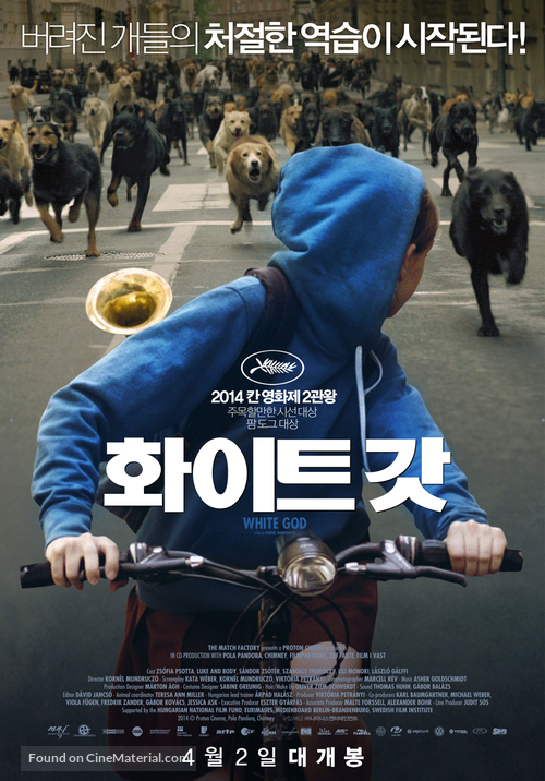 Fehér isten - South Korean Movie Poster