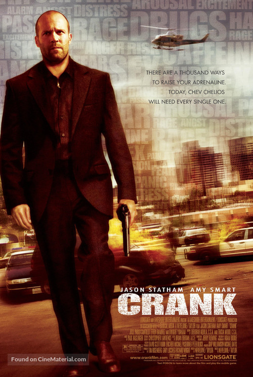 Crank - Movie Poster