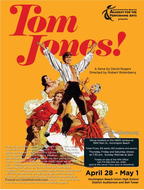 Tom Jones - Movie Poster