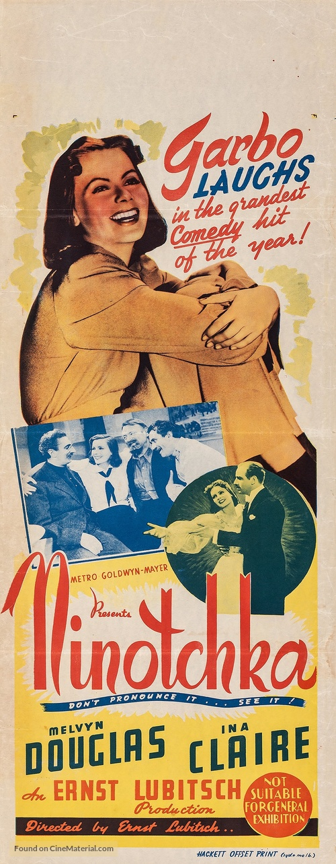 Ninotchka - Australian Movie Poster