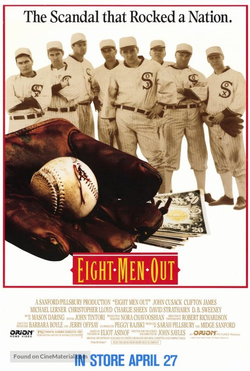 Eight Men Out - Movie Poster
