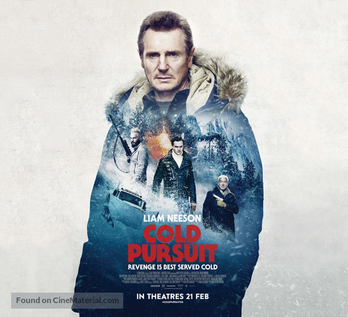 Cold Pursuit - Singaporean Movie Poster
