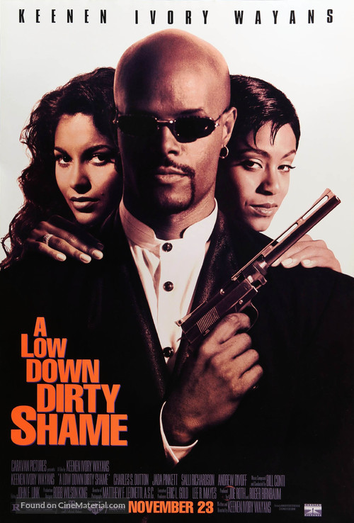 A Low Down Dirty Shame - Movie Poster