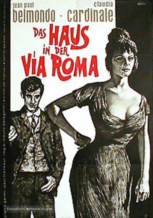 La viaccia - German Movie Poster