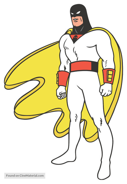 """Space Ghost"" - Key art"