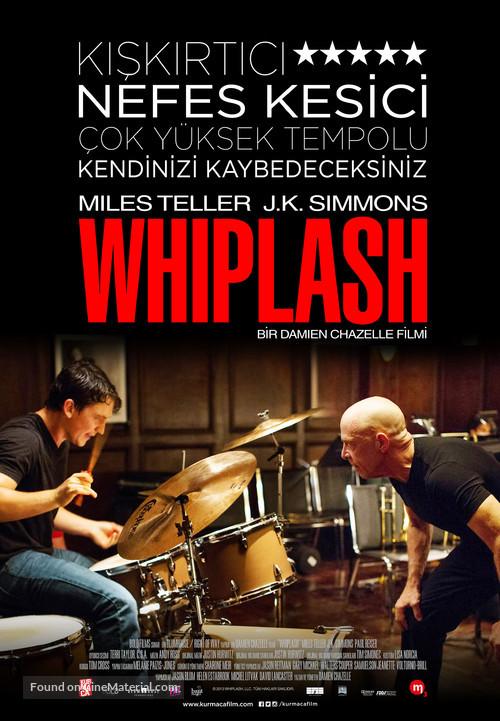 Whiplash - Turkish Movie Poster