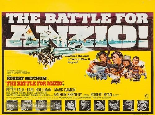 Lo Sbarco di Anzio - British Movie Poster