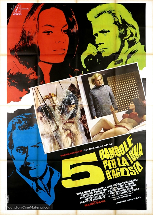 5 bambole per la luna d'agosto - Italian Movie Poster