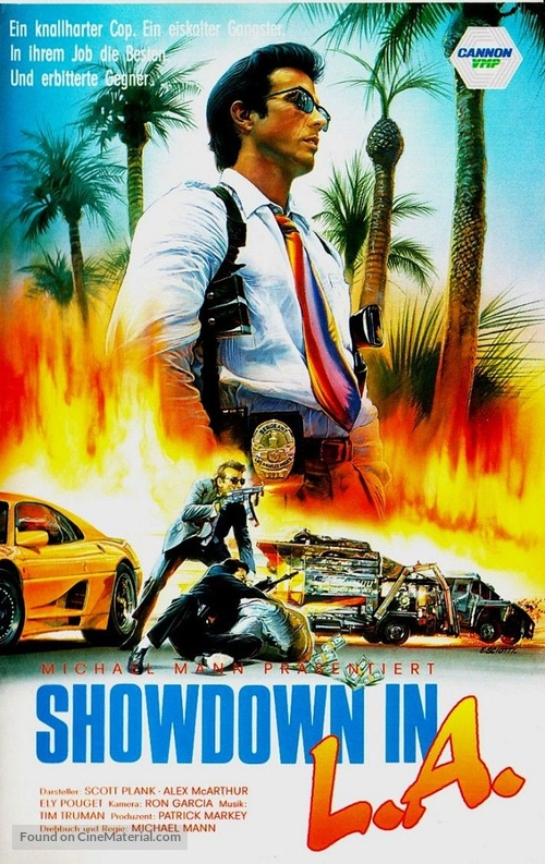 L.A. Takedown - German VHS movie cover