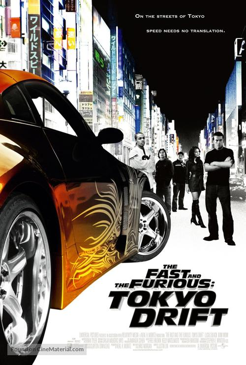 The Fast and the Furious: Tokyo Drift - Movie Poster