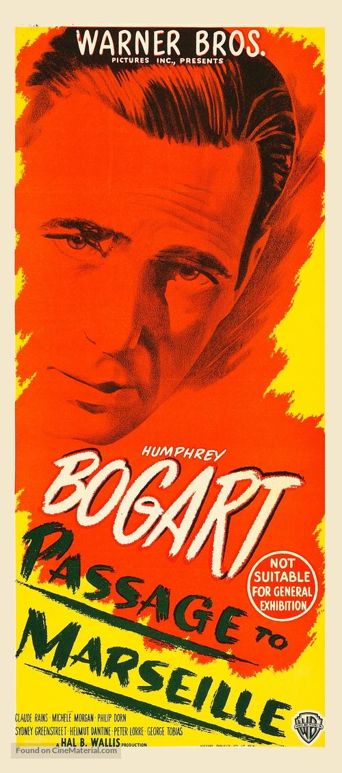 Passage to Marseille - Australian Movie Poster