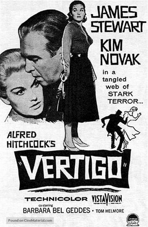 Vertigo - Movie Poster