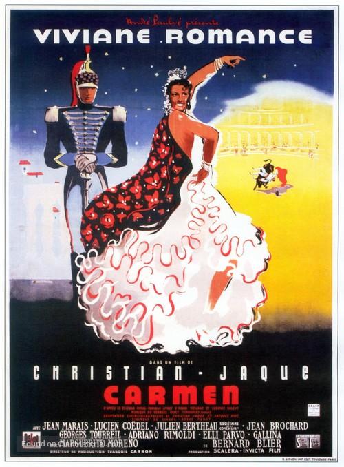 Carmen - French Movie Poster