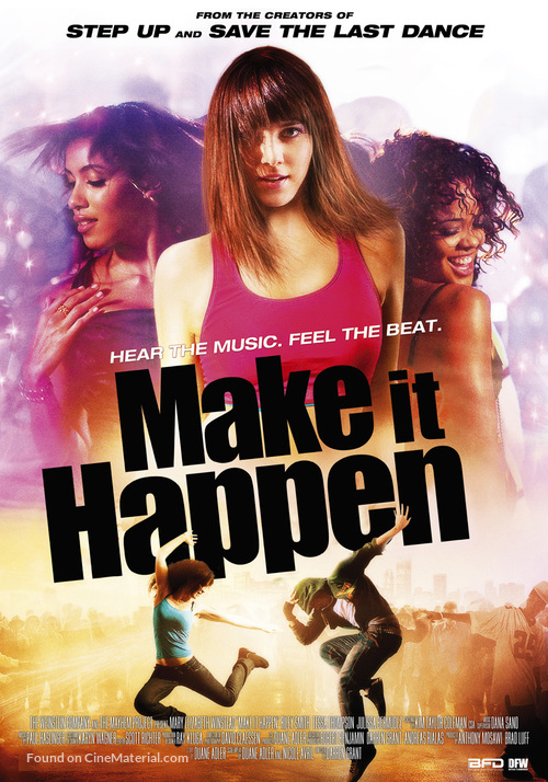Make It Happen - Dutch Movie Poster