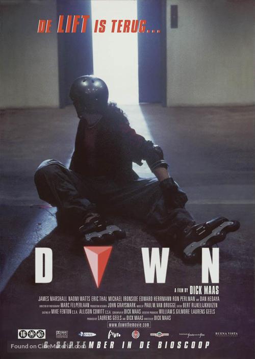 Down - Dutch Movie Poster