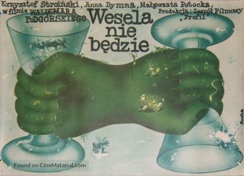 Wesela nie bedzie - Polish Movie Poster