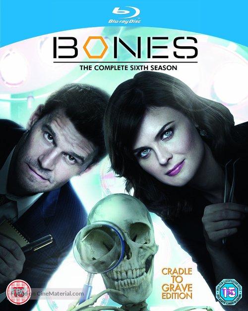 """""""Bones"""" - British Blu-Ray movie cover"""