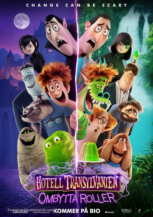 Hotel Transylvania: Transformania - Swedish Movie Poster