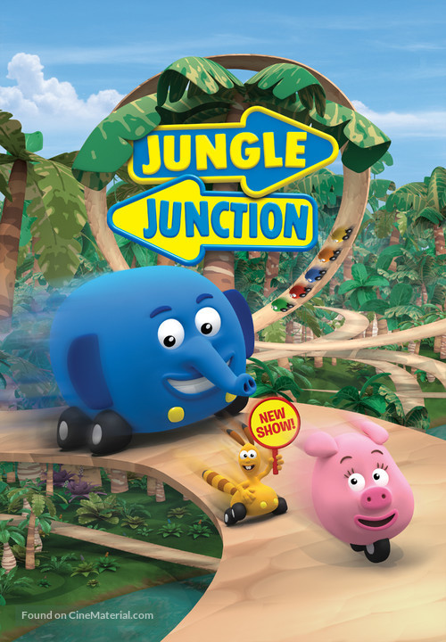 """Jungle Junction"" - Finnish Movie Poster"
