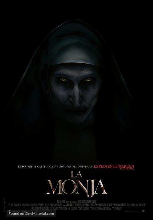 The Nun - Spanish Movie Poster