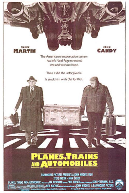 PLANES TRAINS /& AUTOMOBILES Movie Poster