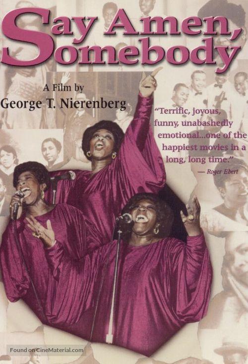Say Amen, Somebody - DVD movie cover