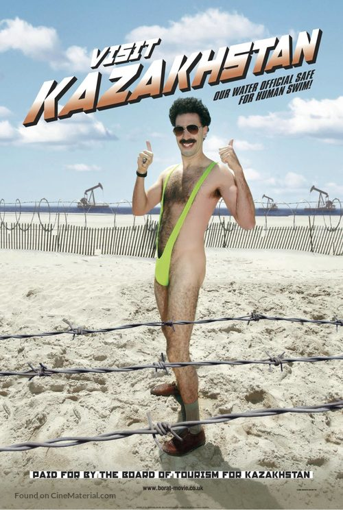 Borat: Cultural Learnings of America for Make Benefit Glorious Nation of Kazakhstan - Movie Poster